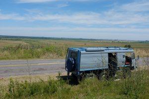vers la frontière Uruguay-Argentine
